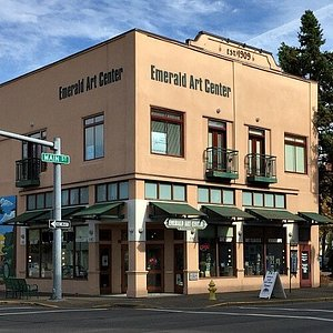 Emerald Art Center at the corner of 5th and Main in trending downtown Springfield!