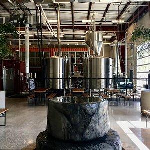 Indoor Beer Garden