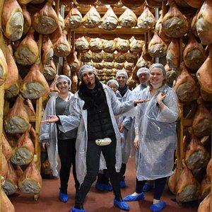 Parma ham heaven :)