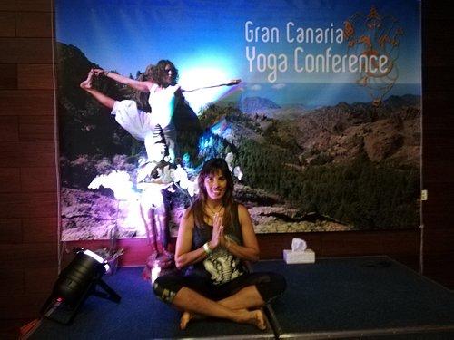 Segunda vez guiando clases en el Gran Canaria Yoga Conference
