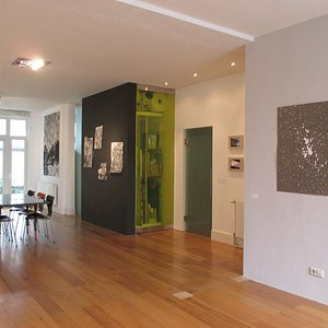 An exhibition about drawing. Mostly works on paper by emerging and established artists.