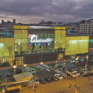 Quicentro Shopping está ubicado en el centro financiero y comercial de la ciudad de Quito