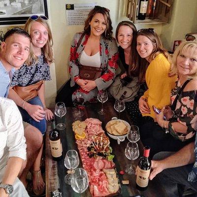 Trastevere food and wine tour
