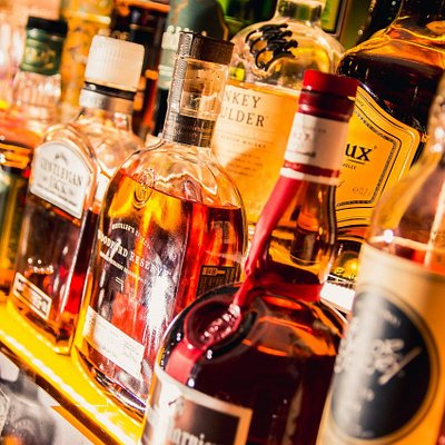 Our back bar offers a wide and varied selection of quality spirits and liqueurs.