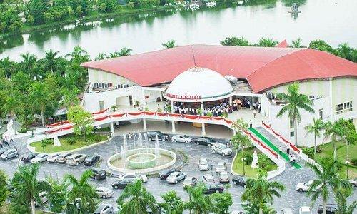 Cung Lễ Hội thuộc thành phố Vinh, tỉnh Nghệ An