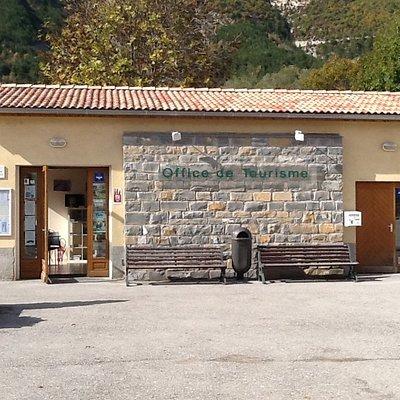 Bureau d'information touristique de Saint André les Alpes. OTI Verdon Tourisme