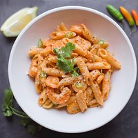 Our Delicious Prawn Pasta-Top Seller here @ Monya's