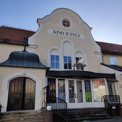 Ptuj city cinema - the oldest active cinema in Slovenia.