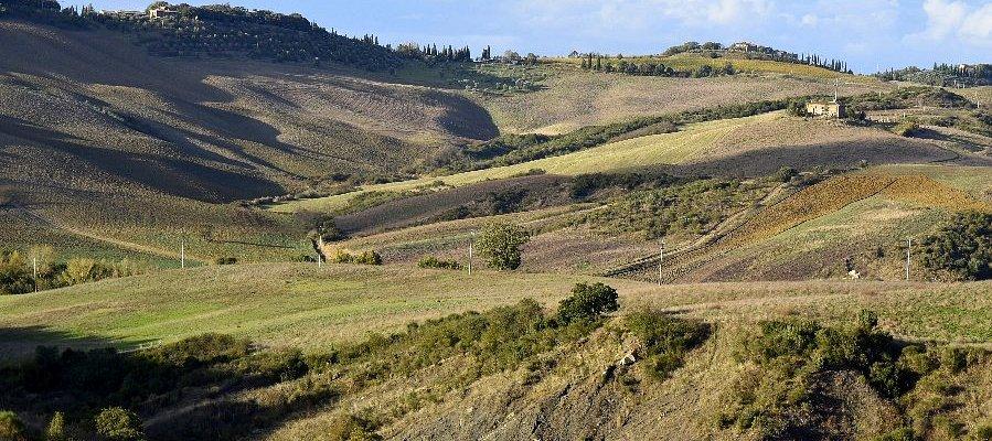 Volete vedere uno scenario così venite in val d'orcia Tuscany
