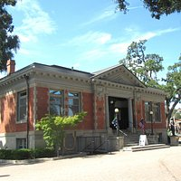 Carnegi Historic Library, City Park Downtown Area, Paso Robles, Ca