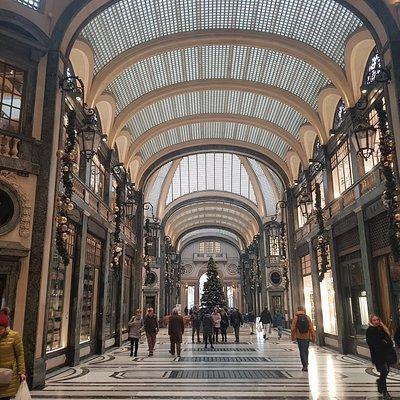 Galleria Subalpina on Chirstmas