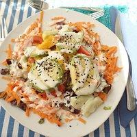 Avocado-mango salad