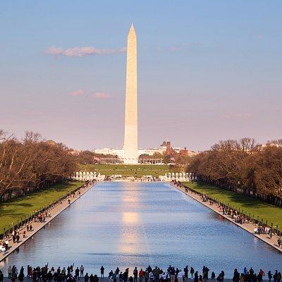Вид с мемориала Линкольну