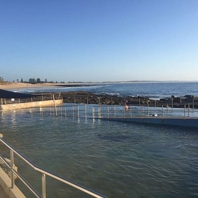 There is also a 50m pool not in this shot.  Located right on The Entrance Beach.