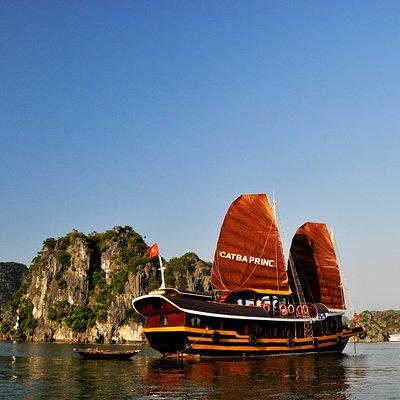 Cat ba / Halong / Lan ha / jonque privé / bateau privé