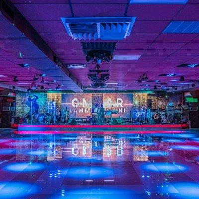 La pista da ballo del Dancing Blu Max