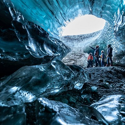 Can you think of a more magical place to show to your children?  The inside of an ice cave at times seems like it's part of another world – a place that, perhaps, you would not think of when planning a trip with your family. Nevertheless, some of our tours are perfect for families with children over a certain age – an adventure they will never forget!