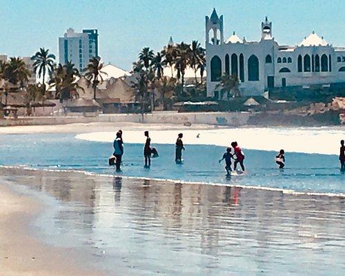 Playa Gaviotas looking towards Valentinos.  Wonderful beach to spend the day.