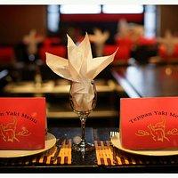 Teppanyaki tables