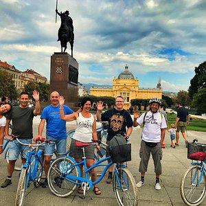 Blue Bike Zagreb bike tours - your best friend in Zagreb