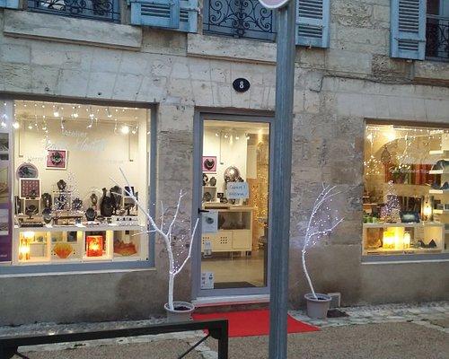 En décembre l'atelier-boutique EnVerre et Contrefil est ouvert tous les jours même les dimanches !