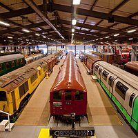 Acton Depot is an operating building, also hosting the majority of our collections of heritage vehicles.