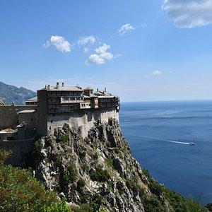 Monastery Simonos petra mount Athos