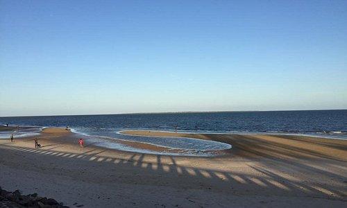 Praia da Costa do Sol.