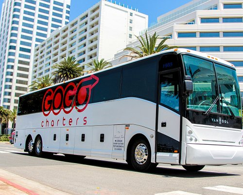 Call GOGO Charters Atlanta to provide you a charter bus, shuttle, or minibus at any time.