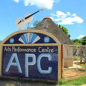 Street sign to show the APC in Tsumeb