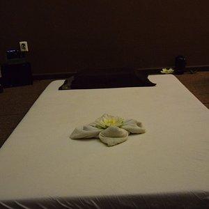 Our thai massage room