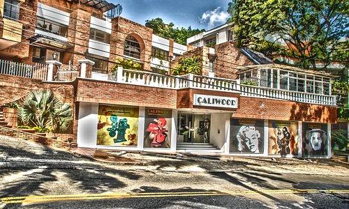 Actual fachada de CALIWOOD el Museo de la Cinematografía.