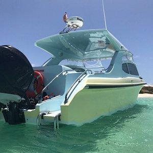 Captain Alan's boat