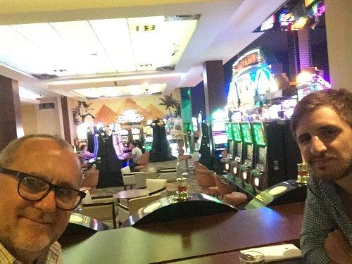 Almorzando en El Dorado Casino de Santa Fe