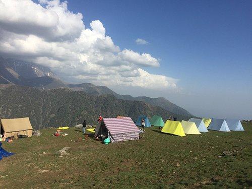 Triund camping Dharamsala - Dalai Lama temple and home