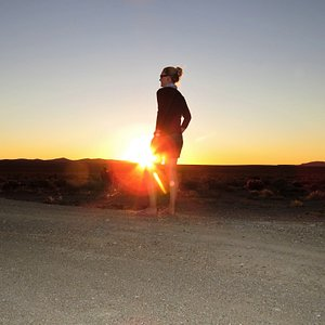 Beautiful sunset in the Karoo. A place where you have enough time and space to think ...