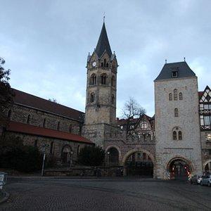 Nikolaitor und Nikolaikirche