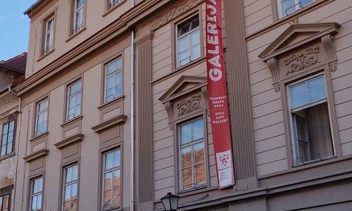 Ptuj city gallery entrance
