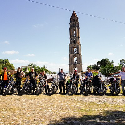 This was one of the stops in the moto tour trip around Cuba with Tropikvedeta.
