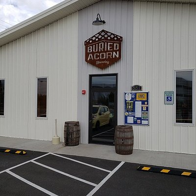 I'm here, at Buried Acorn Brewing