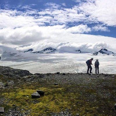 Harding Icefield Hiking Adventure
