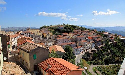 borgo di Cairano in provincia di Avellino