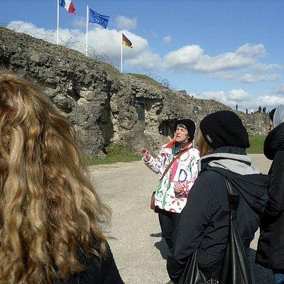Visite guidée du fort de Douaumont