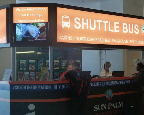 kontoret i Cairns Airport