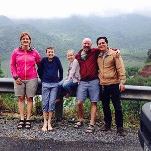 Lovely family from Australia