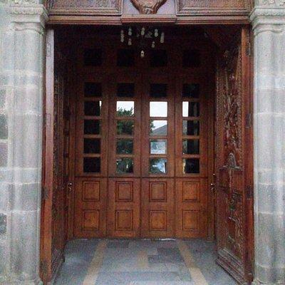 Entrada a capilla