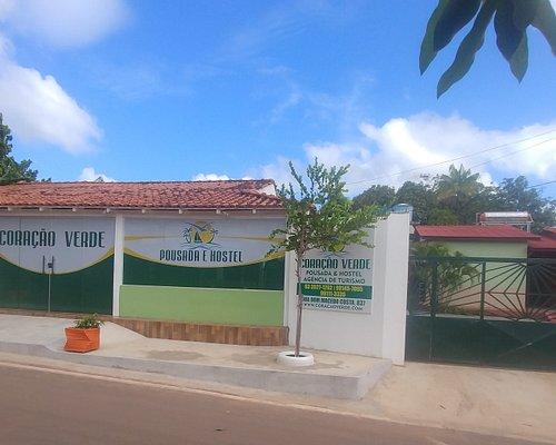 Frente da Coração Verde Turismo, anexo a Pousada e Hostel Coração Verde