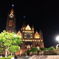 Templo de noche