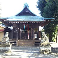 小足立八幡神社正面