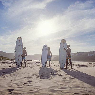Learn to surf on the South African garden route, welcome to Cintsa Beach